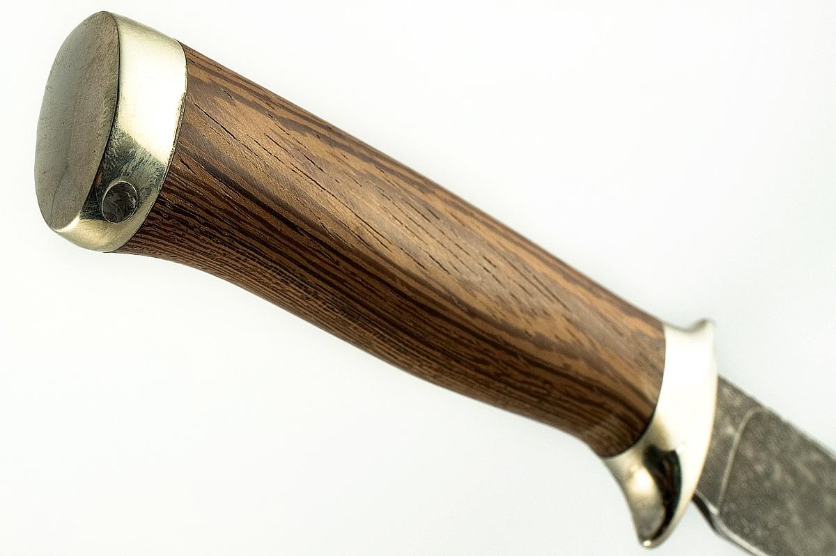 Нож НКВД кованая сталь ХВ-5 Алмазка венге