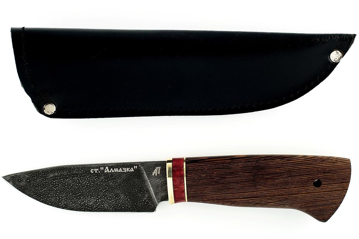 Нож Рысь-2 кованая сталь ХВ-5 Алмазка венге