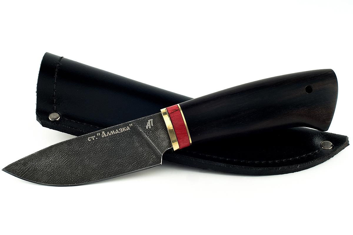 Нож Рысь-3 кованая сталь ХВ-5 Алмазка граб