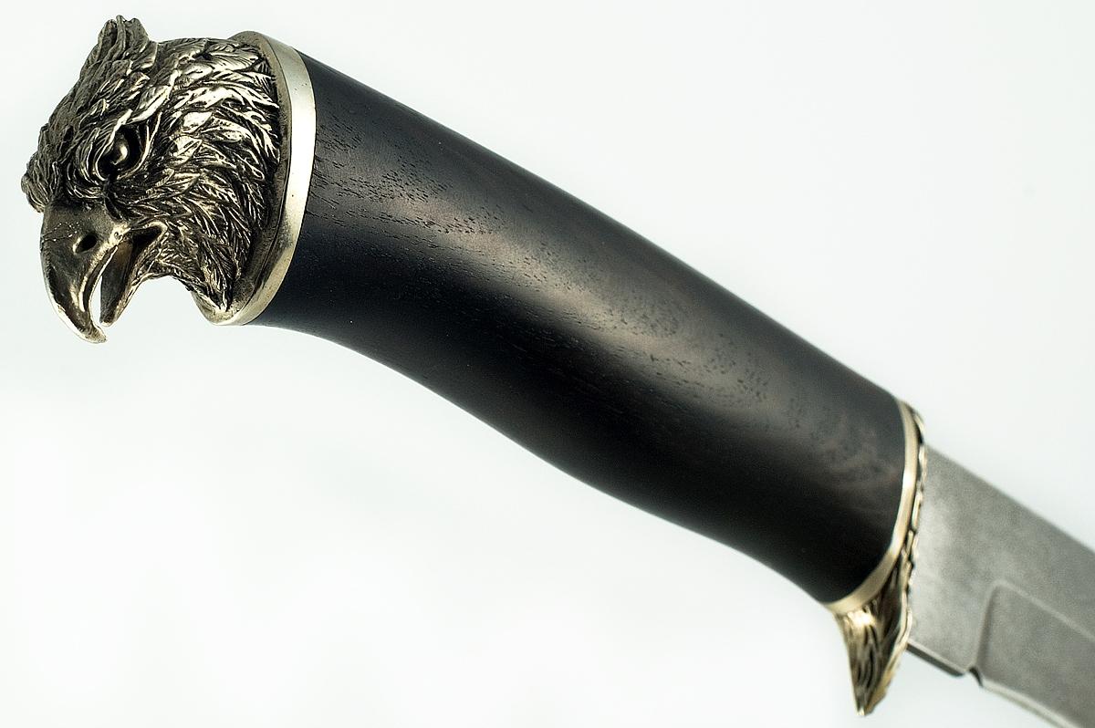 Нож Лис кованая сталь ХВ-5 Алмазка  граб
