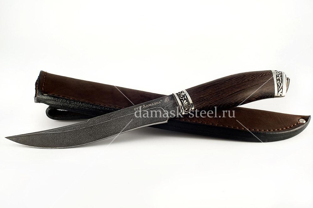 Нож Акула-3 кованая сталь ХВ-5 Алмазка венге