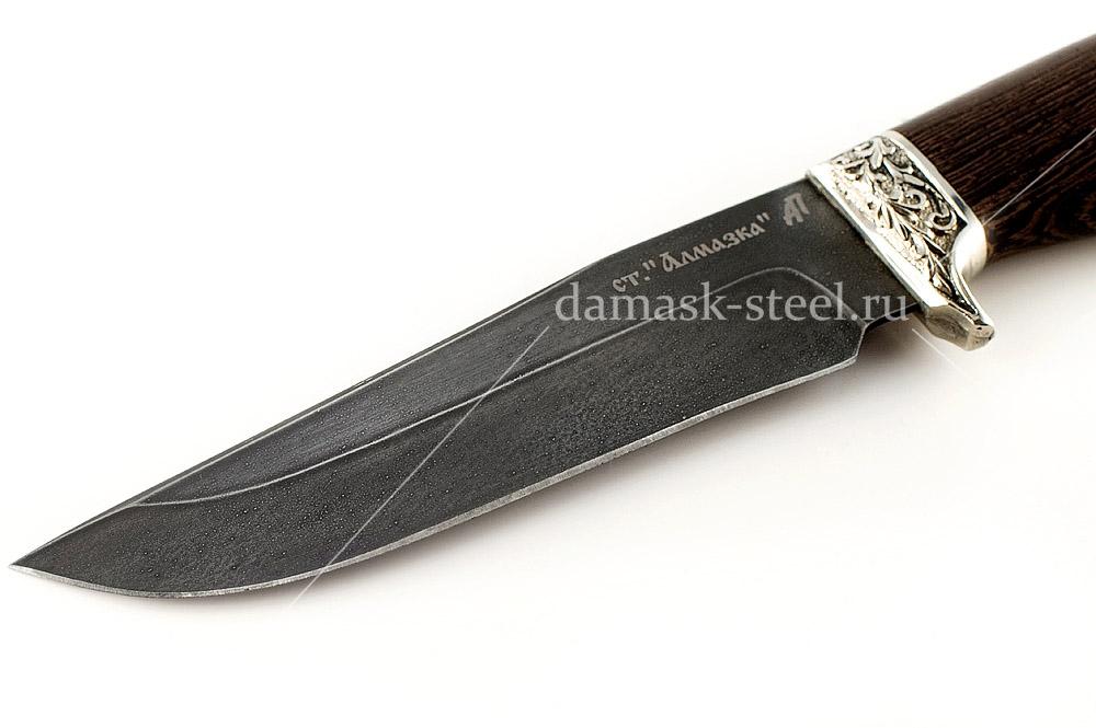 Нож Егерь-2 кованая сталь ХВ-5 Алмазка венге