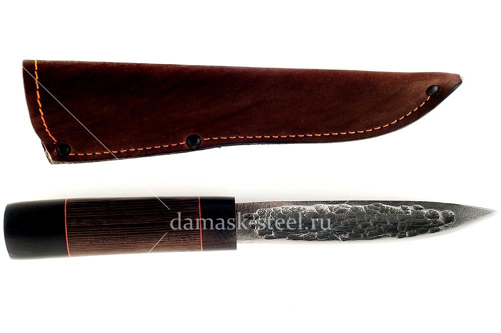 Нож Якутский кованая сталь х12мф венге